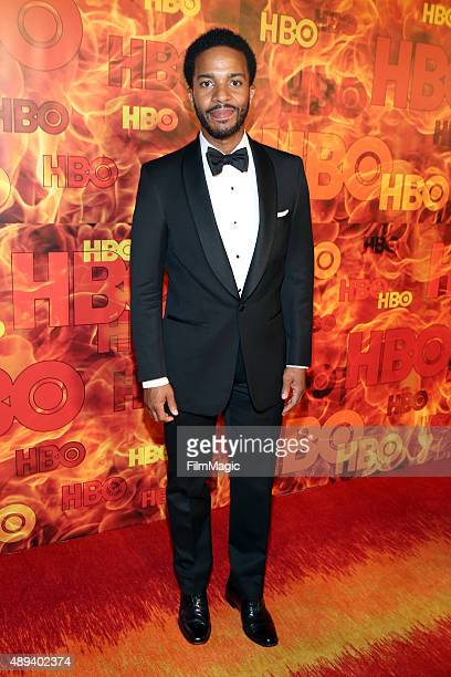 Actor Andre Holland attends HBO's Official 2015 Emmy After Party at The Plaza at the Pacific Design Center on September 20 2015 in Los Angeles...