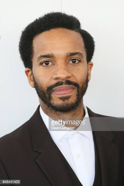 Actor Andre Holland attends the 2017 Film Independent Spirit Awards on February 25 2017 in Santa Monica California