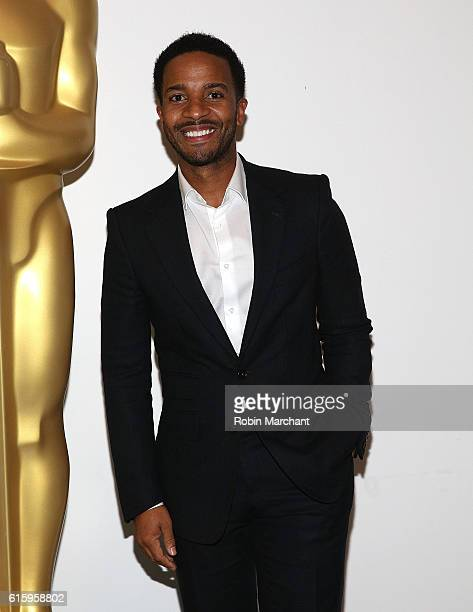 Actor Andre Holland attends The Academy of Motion Picture Arts and Sciences hosts an Official Academy screening of MOONLIGHT at MOMA on October 20...