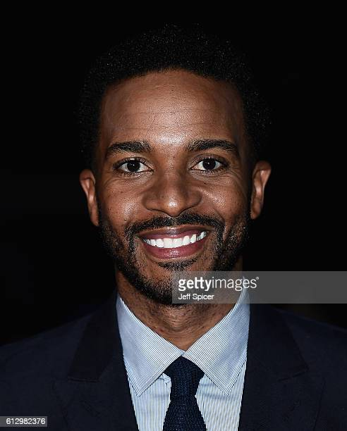 Actor Andre Holland attends the 'Moonlight' Official Competition screening during the 60th BFI London Film Festival at Embankment Garden Cinema on...