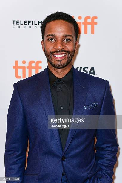 Actor Andre Holland attends the premiere of 'Moonlight' during the 2016 Toronto International Film Festival at Winter Garden Theatre on September 10...