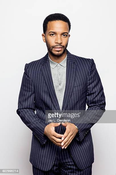 Actor Andre Holland of 'Moonlight' poses for a portraits at the Toronto International Film Festival for Los Angeles Times on September 10 2016 in...
