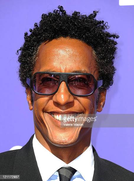 Actor Andre Royo arrives at the 33rd Annual UNCF An Evening Of Stars on August 14, 2011 in Pasadena, California.