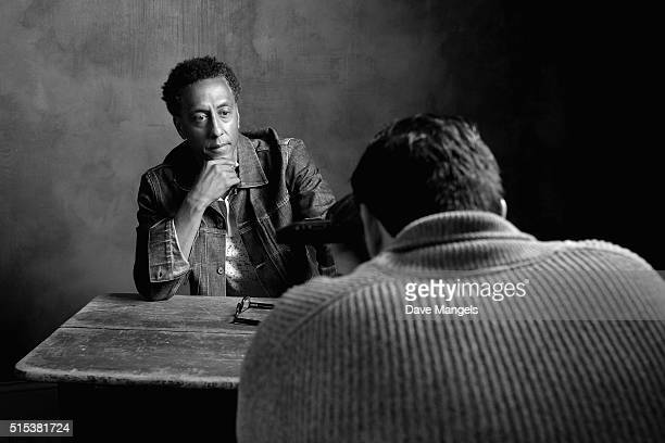 Actor Andre Royo of 'Hunter Gatherer' is seen behind the scenes in the Getty Images SXSW Portrait Studio powered by Samsung on March 12, 2016 in...