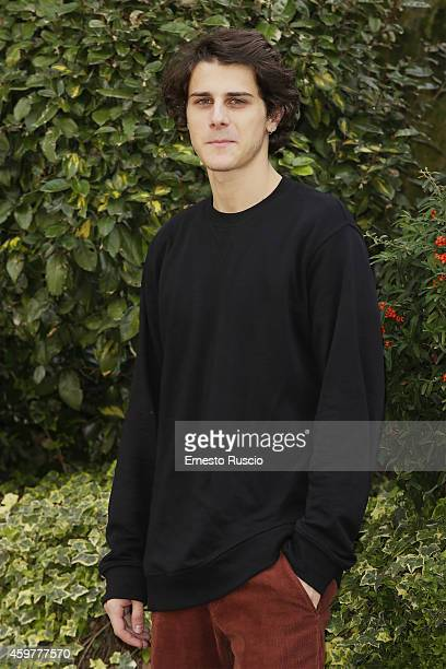 Actor Andrea Arcangeli attends the 'Romeo Giulietta' photocall at Centro Palatino on December 1 2014 in Rome Italy