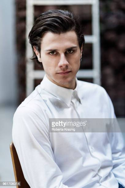 Actor Andrea Arcangeli is photographed on March 9 2017 in Rome Italy