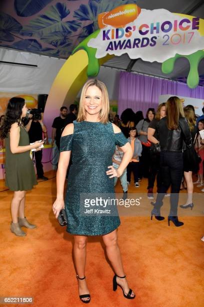 Actor Andrea Barber at Nickelodeon's 2017 Kids' Choice Awards at USC Galen Center on March 11 2017 in Los Angeles California