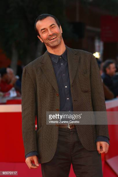 Actor Andrea Occhipinti attends the 'Io Don Giovanni' Premiere during day 6 of the 4th Rome International Film Festival held at the Auditorium Parco...