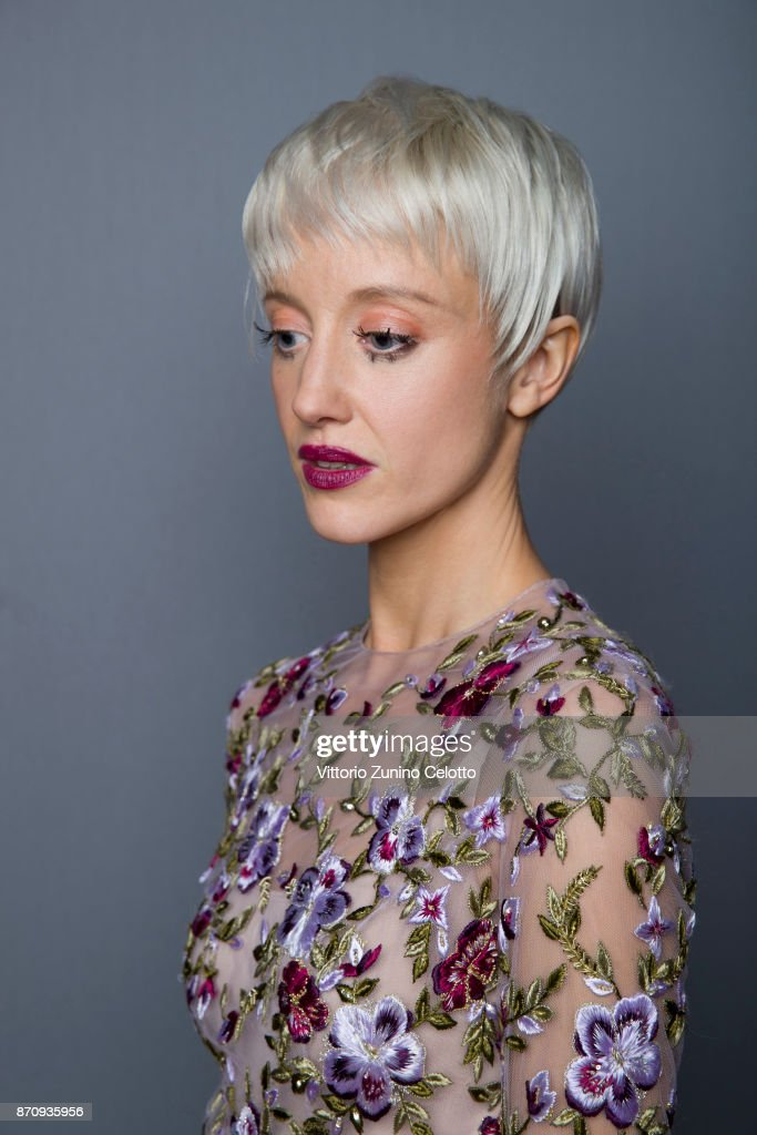 Actor Andrea Riseborough is photographed during the 61st BFI London Film Festival on October 14, 2017 in London, England.
