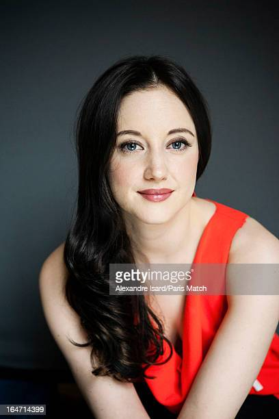 Actor Andrea Riseborough is photographed for Paris Match on October 3 2012 in Paris France
