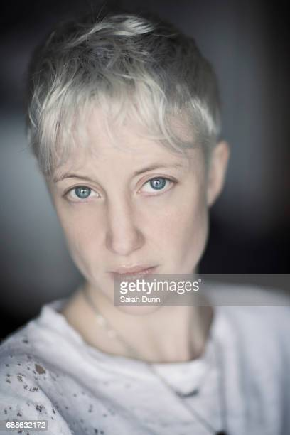 Actor Andrea Riseborough is photographed on April 17 2017 in Los Angeles California