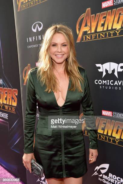 Actor Andrea Roth attends the Los Angeles Global Premiere for Marvel Studios' Avengers Infinity War on April 23 2018 in Hollywood California