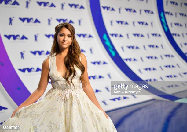 Actor Andrea Russett attends the 2017 MTV Video Music Awards at The Forum on August 27 2017 in Inglewood California