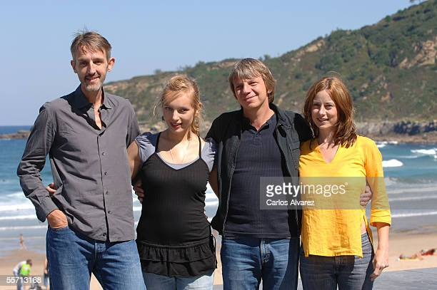 """Actor Andreas Scmidt, actress Nadja Uhl, director Andreas Dresen and actress Inka Friedrich attend the photocall for """"Summer in Berlin"""" on the fourth..."""