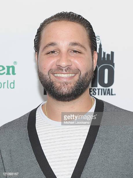 Actor Andres Dominguez attends a conversation with Andy Garcia during the 12th annual NY International Latino film festival at DGA Theater on August...