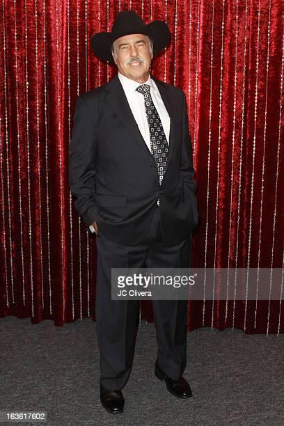 Actor Andres Garcia attends Estrella TV's 'Mi Sueno Es Bailar' season 4 news conference on March 13 2013 in Burbank California