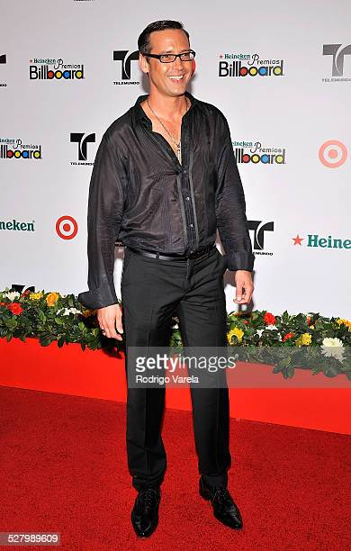 Actor Andres Garcia Jr attends the 2008 Billboard Latin Music Awards at the Seminole Hard Rock Hotel and Casino on April 10 2008 in Hollywood Florida