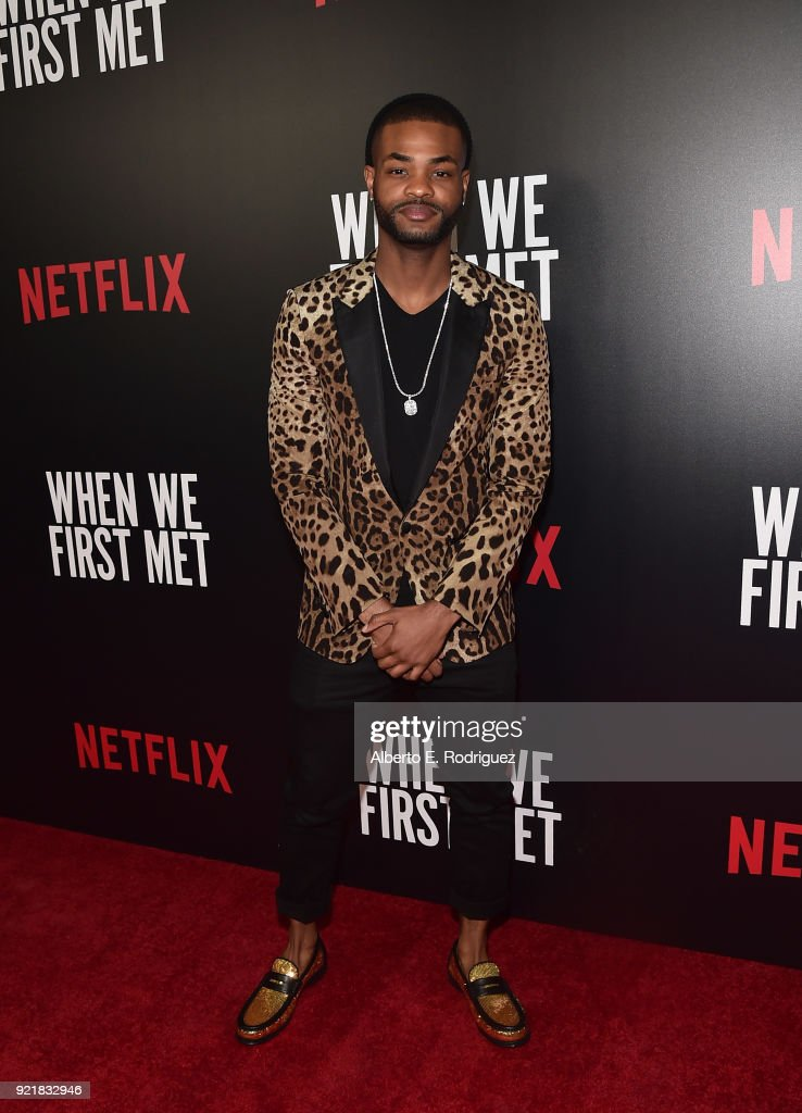 Actor Andrew Bachelor attends a special screening of Netflix's 'When We First Met' at ArcLight Hollywood on February 20, 2018 in Hollywood, California.
