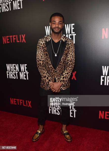 Actor Andrew Bachelor attends a special screening of Netflix's 'When We First Met' at ArcLight Hollywood on February 20 2018 in Hollywood California