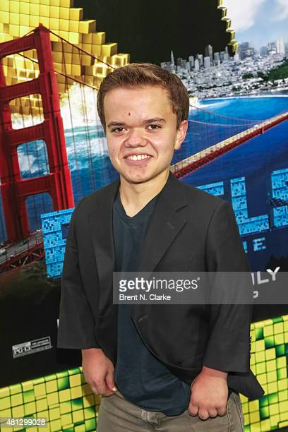 Actor Andrew Bambridge arrives at the 'Pixels' New York premiere held at the Regal EWalk on July 18 2015 in New York City