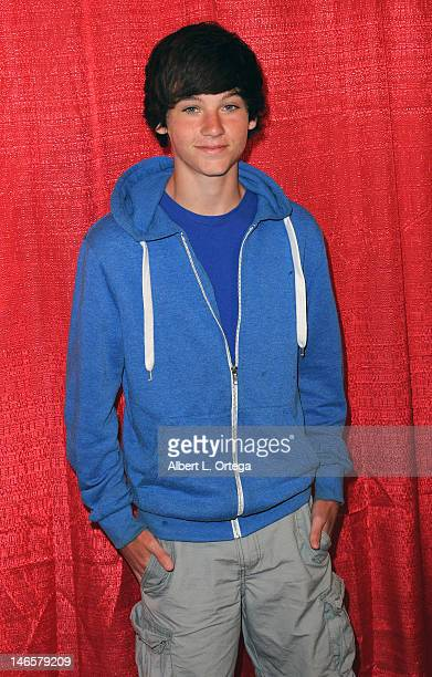 Actor Andrew Beckham arrives for the Music Video Premiere For Barbara Kenton's 'This Is My Dream' Directed By Shanda Renee during Homeless Karaoke...