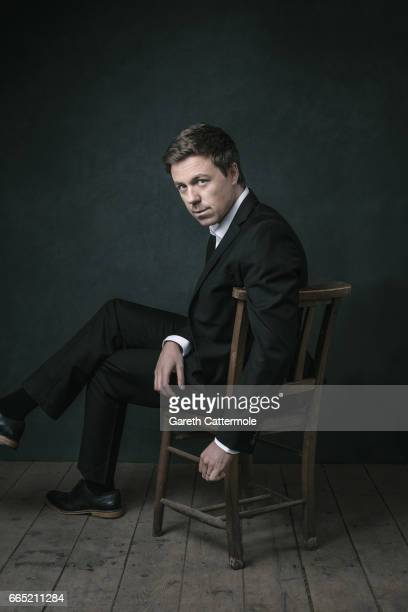Actor Andrew Buchan is photographed on February 15 2017 in London England