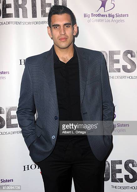 Actor Andrew De Burgh arrives for the Premiere Of Winterstone Pictures' 'Deserted' held at Majestic Crest Theatre on October 6 2016 in Los Angeles...