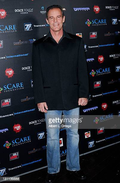 Actor Andrew Divoff arrives for the sCare Foundation's 1st Annual Halloween Launch Benefit held at The Conga Room at LA Live on October 30 2011 in...