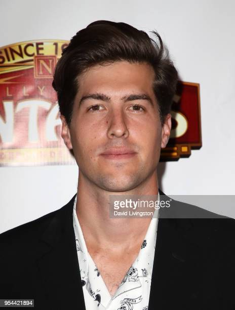Actor Andrew Duplessie attends the Los Angeles premiere of 'School of Rock' The Musical at the Pantages Theatre on May 3 2018 in Hollywood California