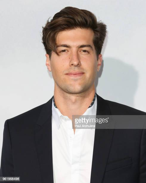 Actor Andrew Duplessie attends the premiere of STX Films' 'Adrift' at Regal LA Live Stadium 14 on May 23 2018 in Los Angeles California