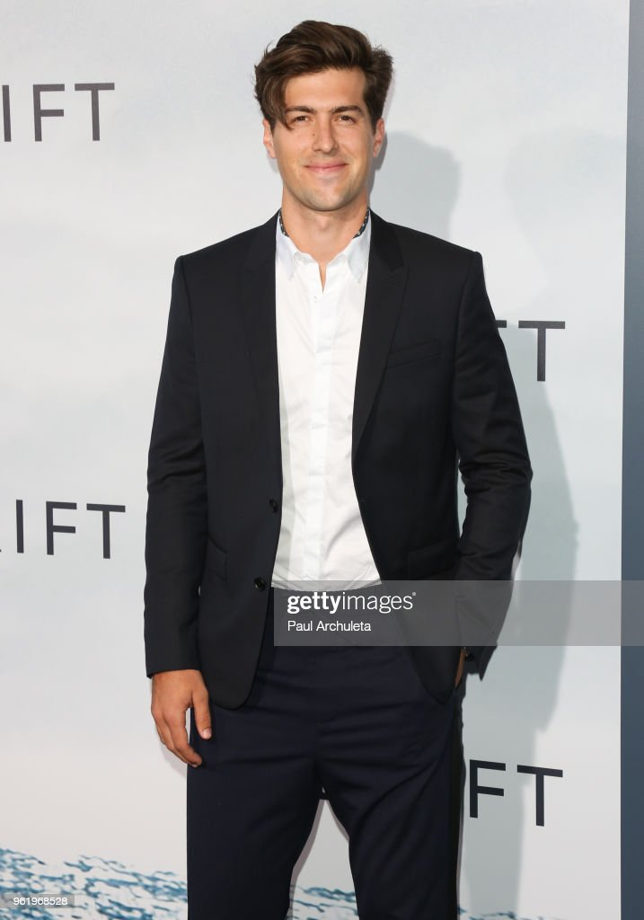 Actor Andrew Duplessie attends the premiere of STX Films' 'Adrift' at Regal LA Live Stadium 14 on May 23, 2018 in Los Angeles, California.