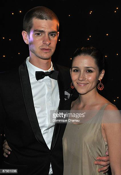 """Actor Andrew Garfield and actress Shannon Marie Woodward attend """"The Imaginarium of Doctor Parnassus"""" after party during the 62nd Annual Cannes Film..."""