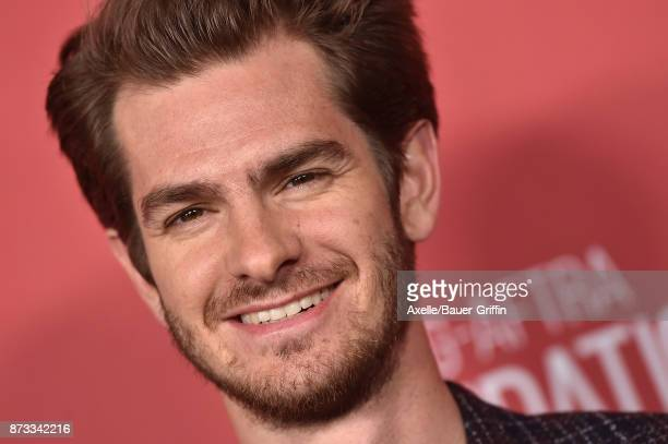 Actor Andrew Garfield arrives at SAGAFTRA Foundation Patron of the Artists Awards 2017 on November 9 2017 in Beverly Hills California