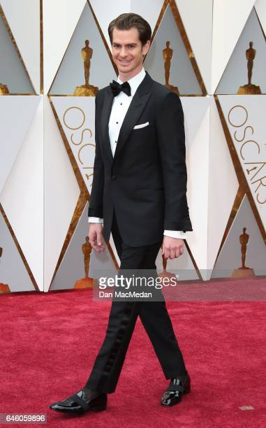 Actor Andrew Garfield arrives at the 89th Annual Academy Awards at Hollywood Highland Center on February 26 2017 in Hollywood California
