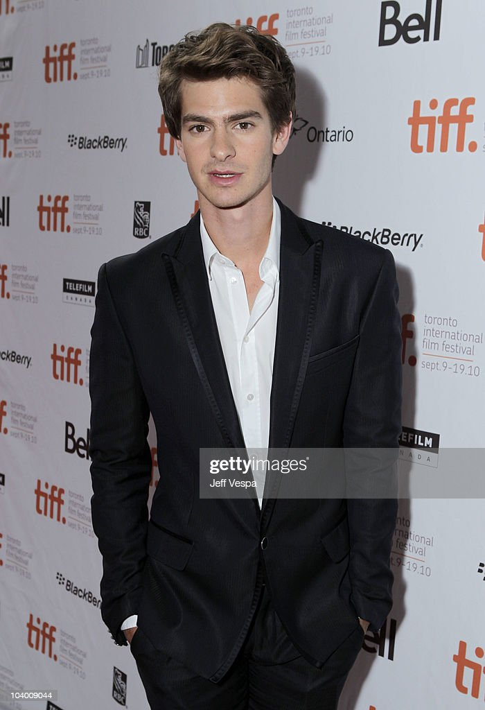 Actor Andrew Garfield arrives at the 'Never Let Me Go' Premiere held at the Ryerson Theatre during the 35th Toronto International Film Festival on September 11, 2010 in Toronto, Canada.