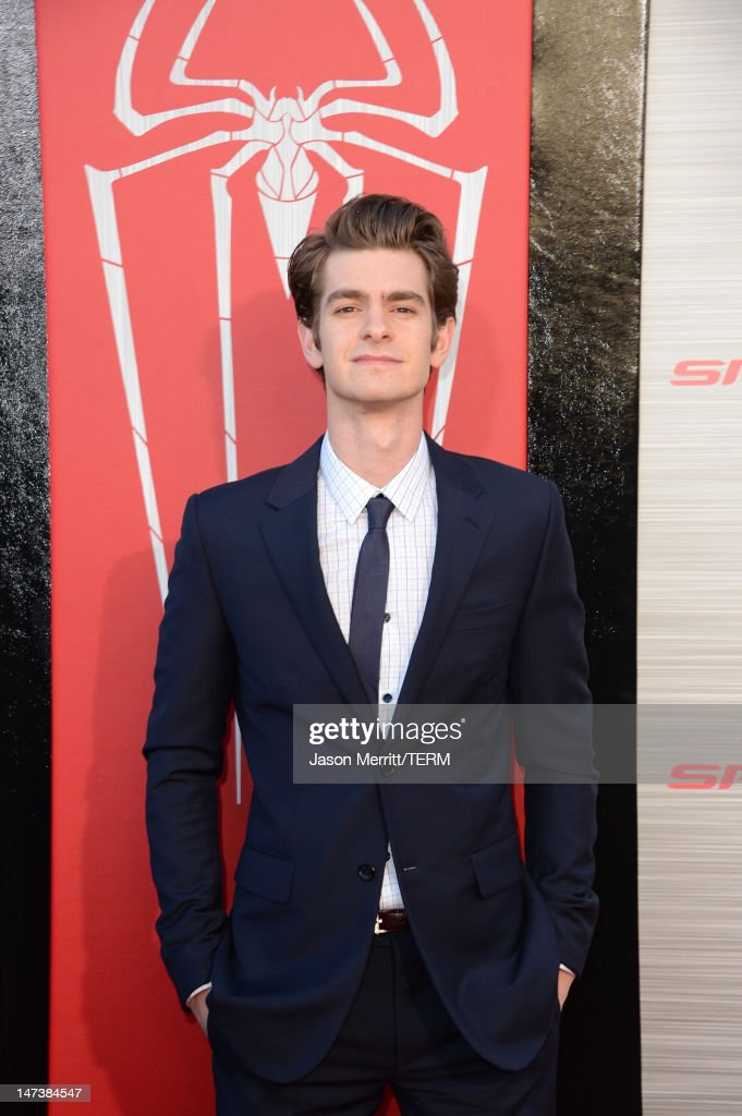 Actor Andrew Garfield arrives at the premiere of Columbia Pictures' 'The Amazing Spider-Man' at the Regency Village Theatre on June 28, 2012 in Westwood, California.