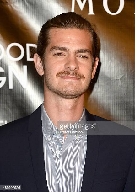 Actor Andrew Garfield attends HFPA Annual Grants Banquet at the Beverly Wilshire Four Seasons Hotel on August 13 2015 in Beverly Hills California