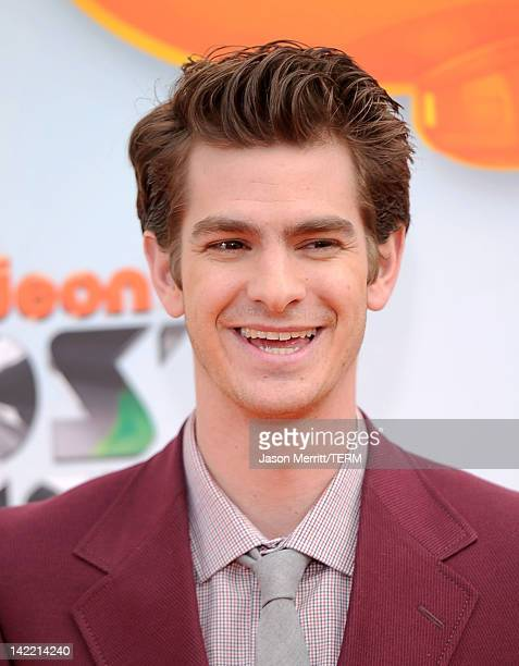 Actor Andrew Garfield attends Nickelodeon's 25th Annual Kids' Choice Awards held at Galen Center on March 31 2012 in Los Angeles California