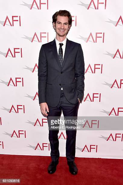 Actor Andrew Garfield attends the 17th annual AFI Awards at Four Seasons Los Angeles at Beverly Hills on January 6 2017 in Los Angeles California