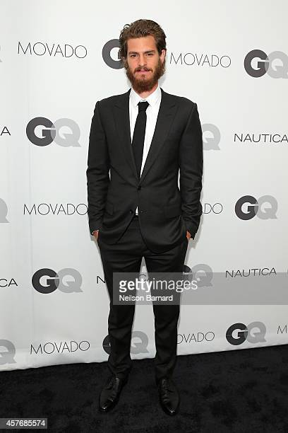 Actor Andrew Garfield attends the 2014 GQ Gentlemen's Ball at IAC HQ on October 22 2014 in New York City