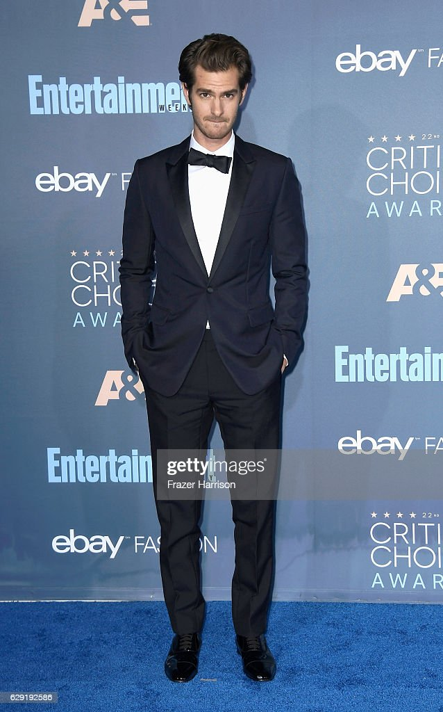 Actor Andrew Garfield attends The 22nd Annual Critics' Choice Awards at Barker Hangar on December 11, 2016 in Santa Monica, California.