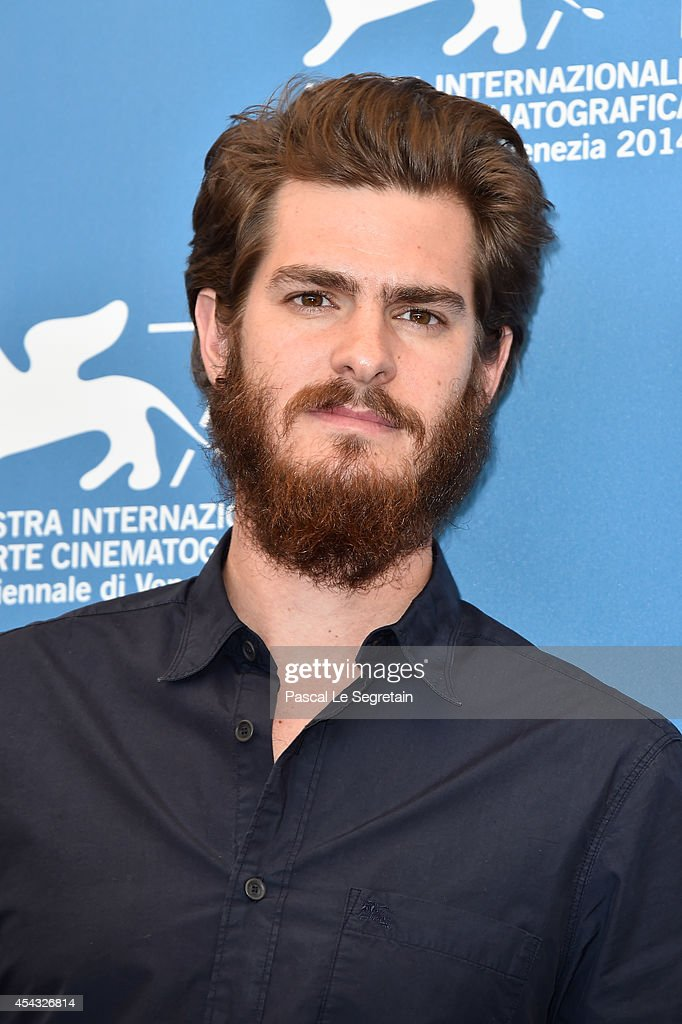Actor Andrew Garfield attends the '99 Homes' photocall during the 71st Venice Film Festival on August 29, 2014 in Venice, Italy.