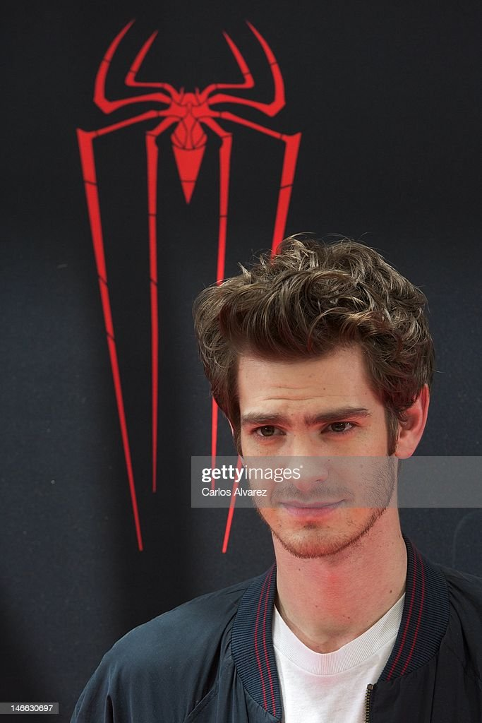 Actor Andrew Garfield attends 'The Amazing Spider-Man' photocall at Villamagna Hotel on June 21, 2012 in Madrid, Spain.