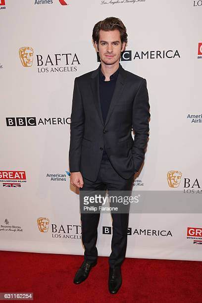 Actor Andrew Garfield attends The BAFTA Tea Party at Four Seasons Hotel Los Angeles at Beverly Hills on January 7 2017 in Los Angeles California