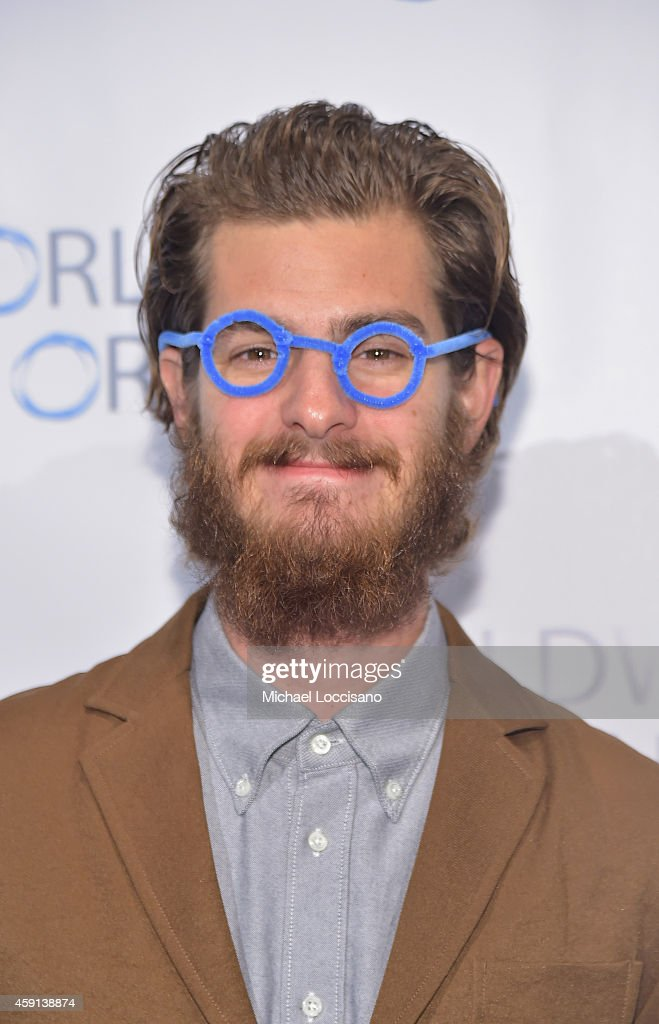 Actor Andrew Garfield attends the Worldwide Orphans' 10th Annual Gala Hosted by Katie Couric at Cipriani, Wall Street on November 17, 2014 in New York City.