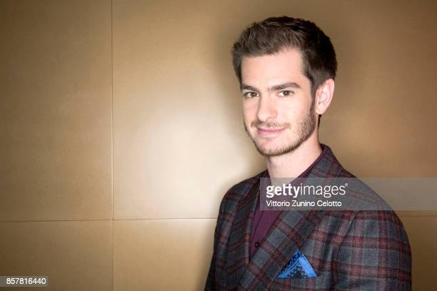 Actor Andrew Garfield is photographed during the 61st BFI London Film Festival on October 4 2017 in London England