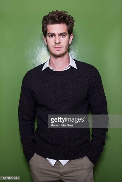 Actor Andrew Garfield is photographed for Los Angeles Times on April 3 2014 in Los Angeles California PUBLISHED IMAGE CREDIT MUST READ Robert...