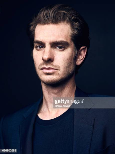 Actor Andrew Garfield is photographed for The Wrap on December 1 2016 in Los Angeles California