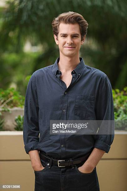 Actor Andrew Garfield is photographed for USA Today on October 23 2016 in Los Angeles California