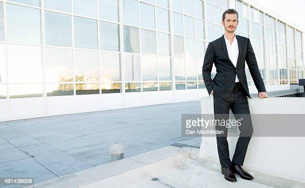 Actor Andrew Garfield is photographed for USA Today on September 8 2015 in Los Angeles California PUBLISHED IMAGE